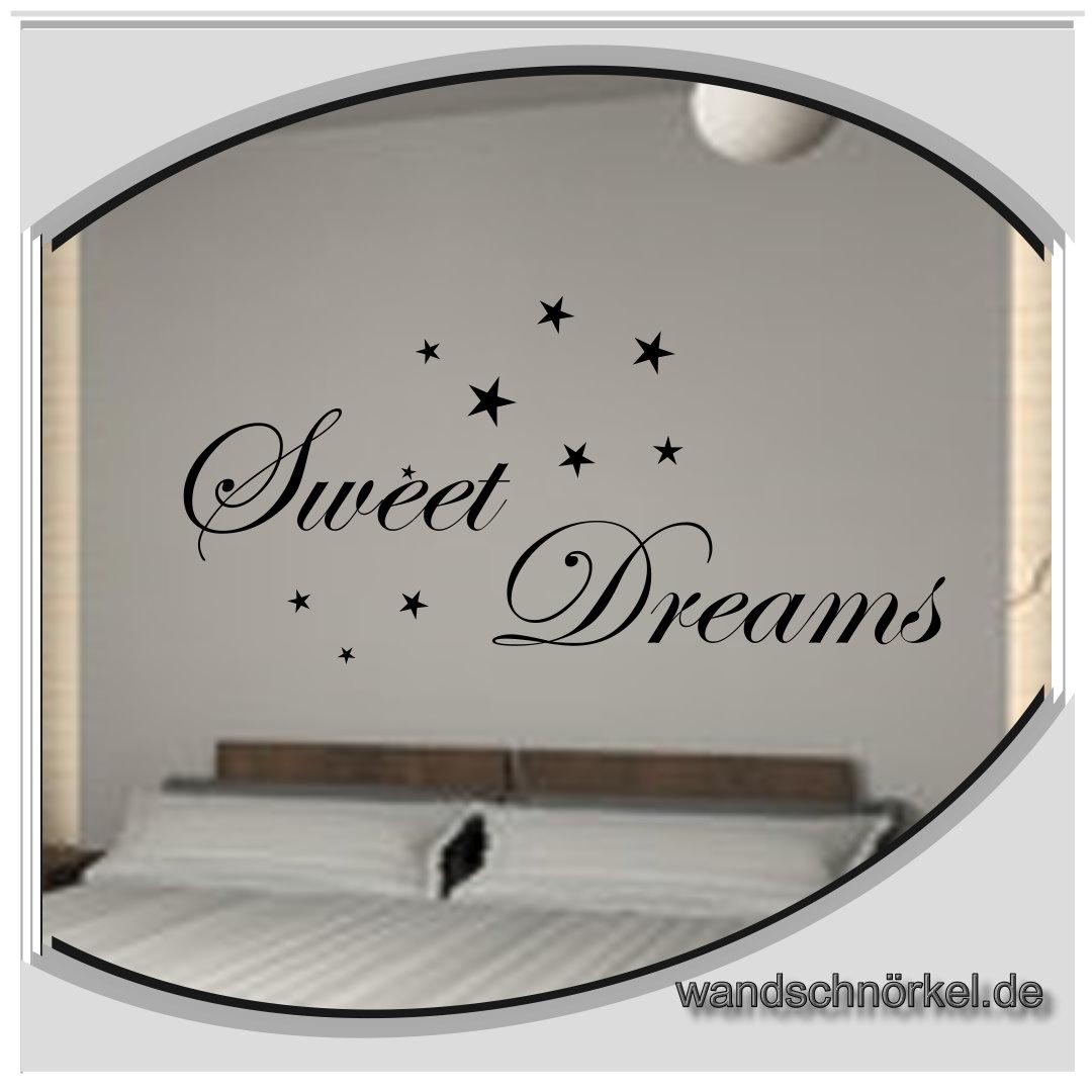 Wandtattoo Sweet Dreams Ii Englisch Schrift Träume Schlafen