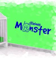 Wandtattoo Kleines Monster