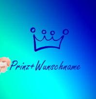 Prinz + Wunschnamen 30x20