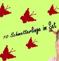 Schmetterlinge 10er Set 5-10cm