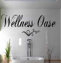 Wellnessoase ** Wandtattoo